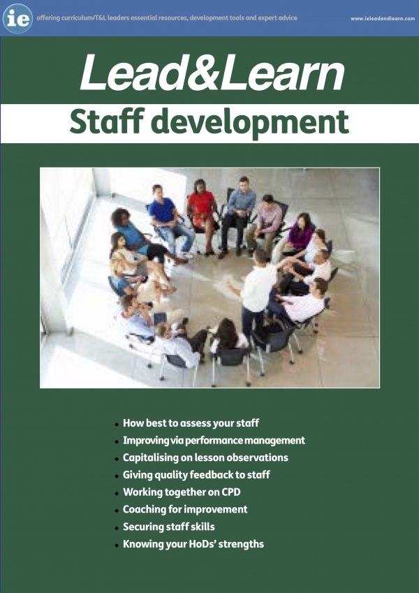 Staff development guide for schools